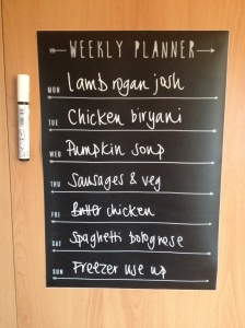 meal planning like a boss