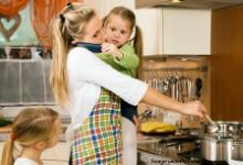 juggling motherhood