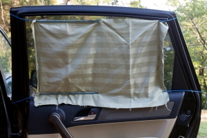 diy window shade