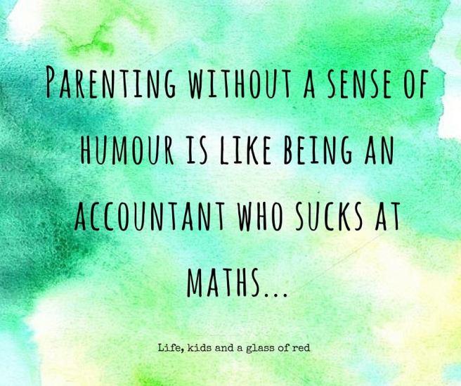 parenting sense of humour