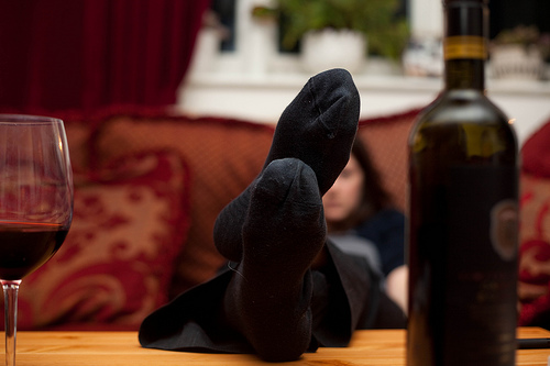 flickr feet up