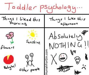Toddler psychology Hurrah For Gin